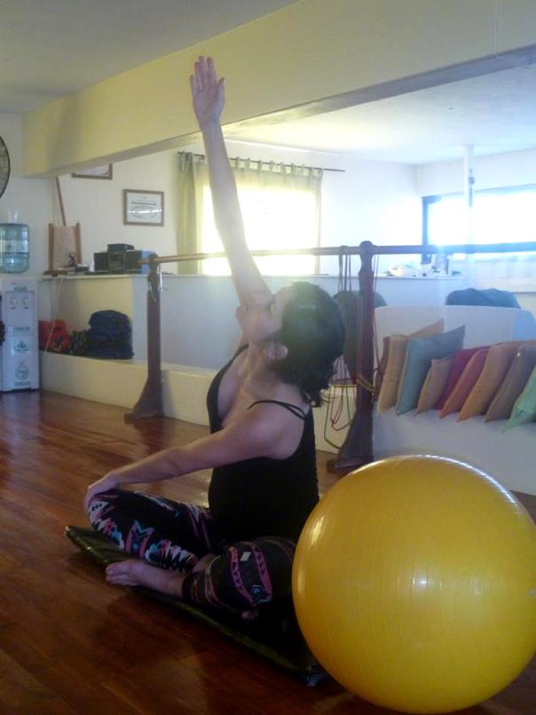 yoga embarazadas 1